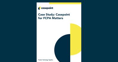 FCPA eDiscovery Case Study