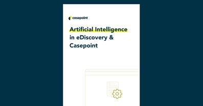 AI in eDiscovery