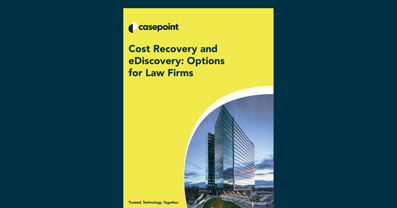 Cost Recovery in eDiscovery