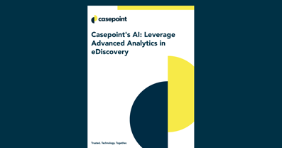 Advanced Analytics eDiscovery