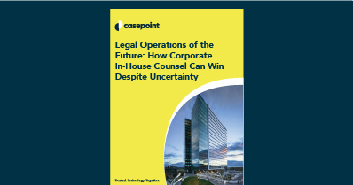 Corporate Legal Operations of the Future