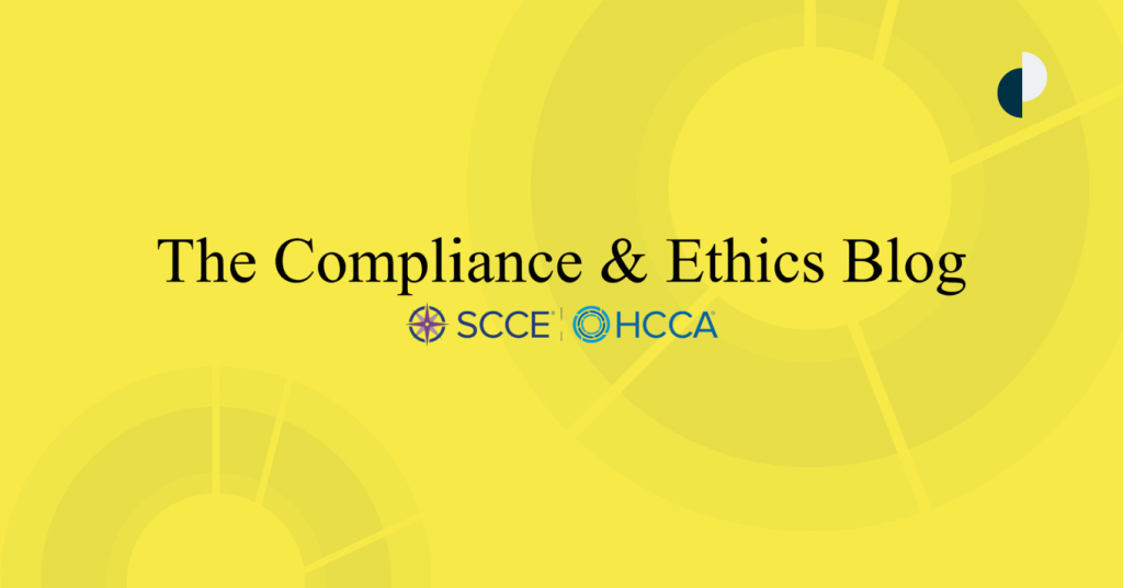 Compliance & Ethics Blog